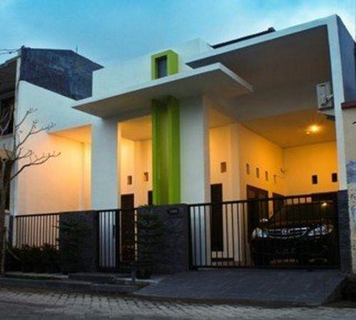 Rumah minimalis sederhana bernuansa modern