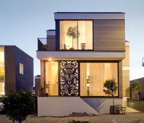 Rumah minimalis terbaru lebih ramah lingkungan dengan panel kaca besar
