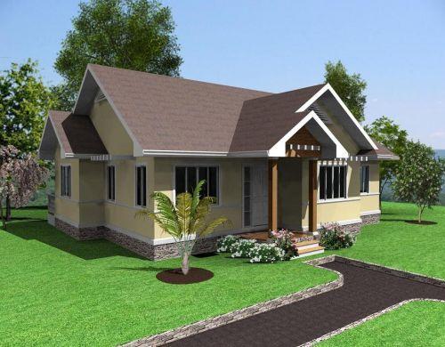 Rumah sederhana bernuansa asri dan rapi