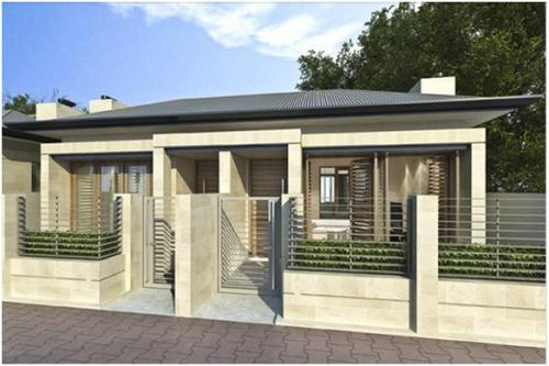 Rumah tipe 45 model kopel