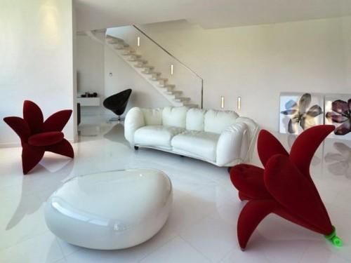 Set sofa unik model bunga - Pixelholdr