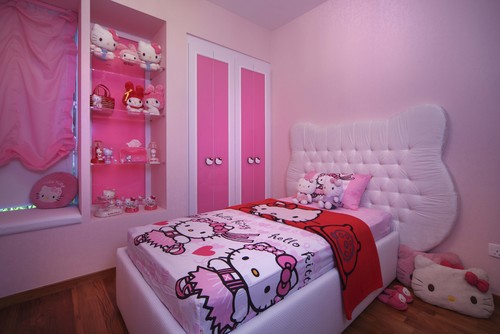 Tempat Tidur Anak Hello Kitty: Favorit Putri Kecil Anda