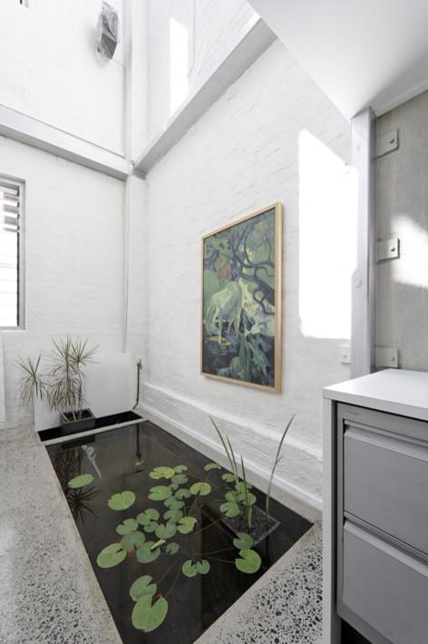 Void pada taman indoor rumah mewah minimalis - Houzz