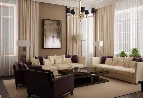Warna untuk Desain Interior Ruang Tamu Minimalis