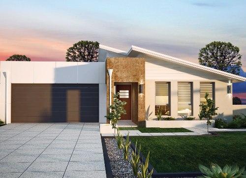 atap rumah minimalis modern model datar dan miring