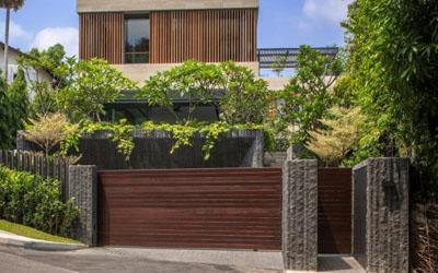 Contoh Desain Taman Bunga Yang Cantik Untuk Halaman Depan Rumah