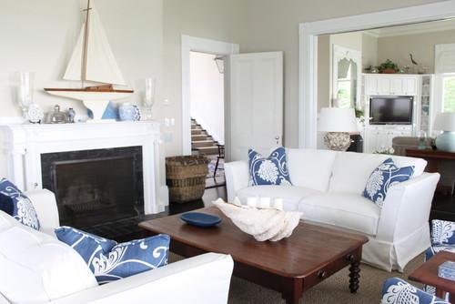 dekorasi rumah sederhana dengan nuansa laut