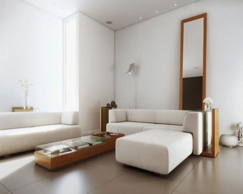 desain interior ruang tamu minimalis sederhana dengan kaca