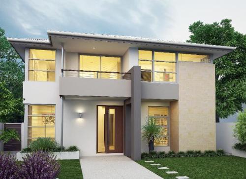 Desain Rumah Minimalis 2 Lantai Dengan Ruang Terbuka Rumahminimalis Com