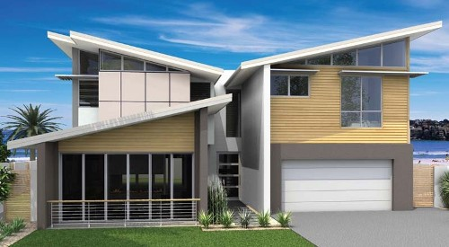 Desain Rumah Minimalis Modern 2 Lantai Bertema Kontemporer Rumahminimalis Com