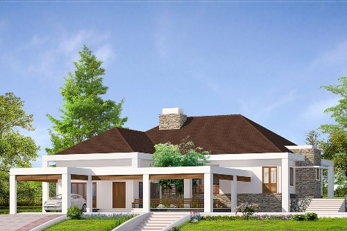 desain rumah minimalis type 120 1 lantai