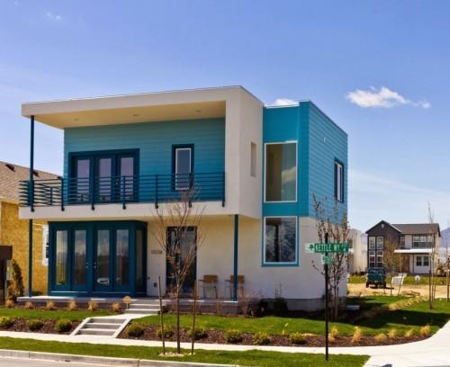 model atap rumah minimalis 2 lantai tipe datar