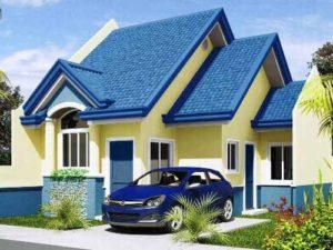 model rumah kecil minimalis berkonsep alami