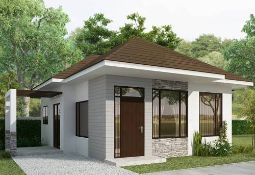 Rumah Cantik Minimalis Untuk Keluarga Kecil